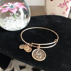 Alex & Ani Initial G Bracelet